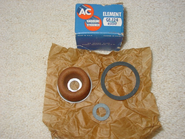 NOS AC GF-124 Fuel Filter. Ac Fuel Filters on